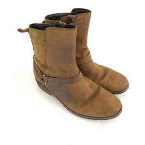 Teva Brown De La Vina Dos Leather Boots